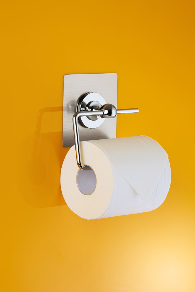 Chrome Toilet roll_Holder